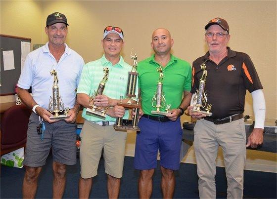 Public Works Gold Tournament winners