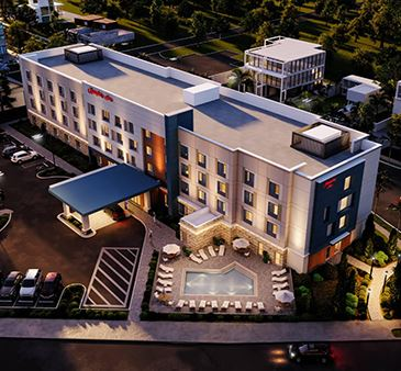 Hampton Inn Fort Myers Rendering