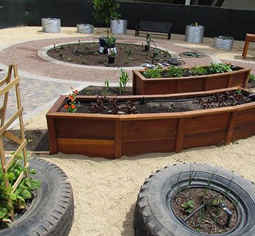Barden Street Community Garden Learning Center design example