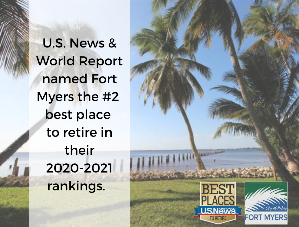 Fort Myers is the #2 best place to retire