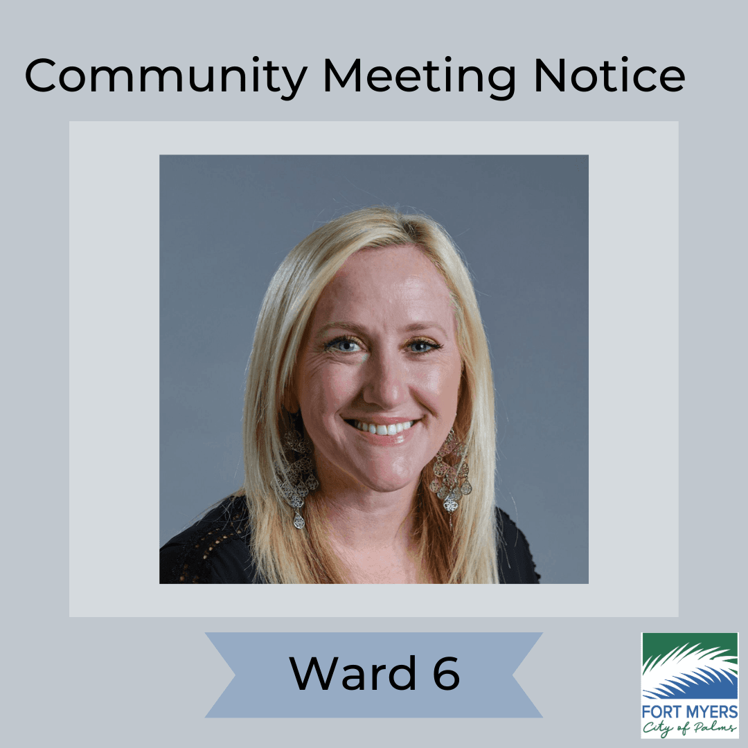 Ward Meeting - Councilwoman Bonk