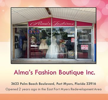 East Fort Myers redevelopment area spotlight Alma's Fashion Boutique