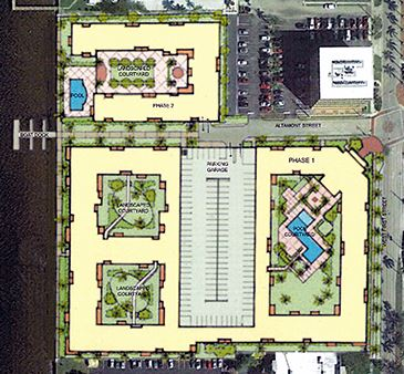 Silver Hills at Fort Myers Apartments Site Plan